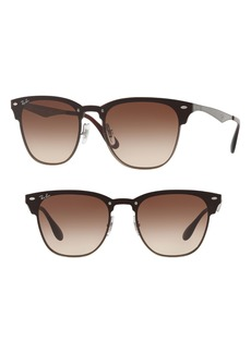 Ray-Ban Blaze Clubmaster 50mm Sunglasses