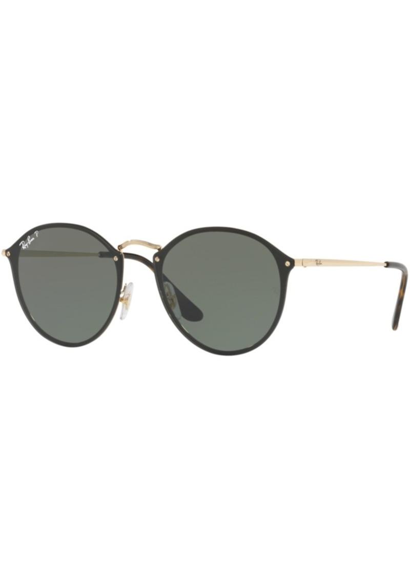 Ray-Ban Polarized Polarized Sunglasses, RB3574N Blaze Round