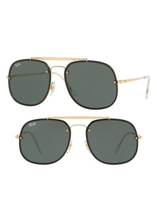 Ray-Ban Blaze General 58mm Aviator Sunglasses