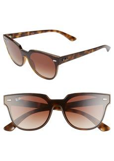 Ray-Ban Blaze Meteor 145mm Gradient Shield Sunglasses
