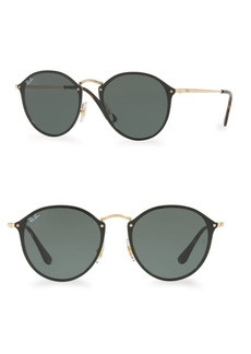 Ray-Ban 59MM Blaze Round Sunglasses