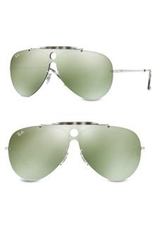 Ray-Ban Blaze Shooter Mirrored Pilot Sunglasses