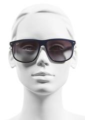 Ray-Ban 'Boyfriend Flat Top Frame' 60mm Sunglasses