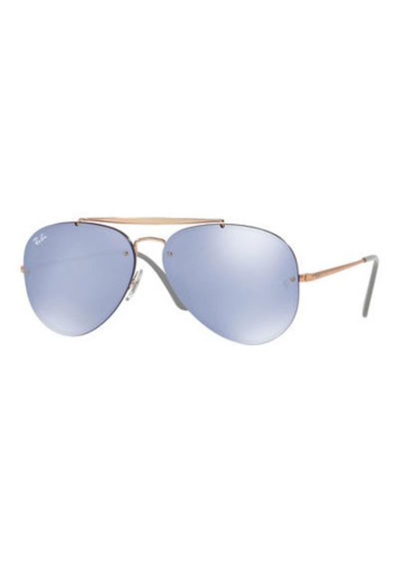 ray ban brow bar aviator sunglasses sunglasses rh shopittome com