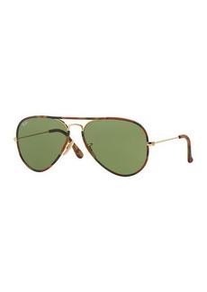 Ray-Ban Camo-Print Aviator Sunglasses