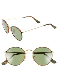 Ray-Ban Camo Print Round 50mm Sunglasses