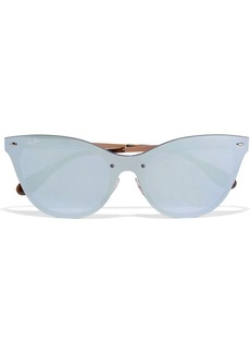 Ray-Ban Cat-eye acetate mirrored sunglasses