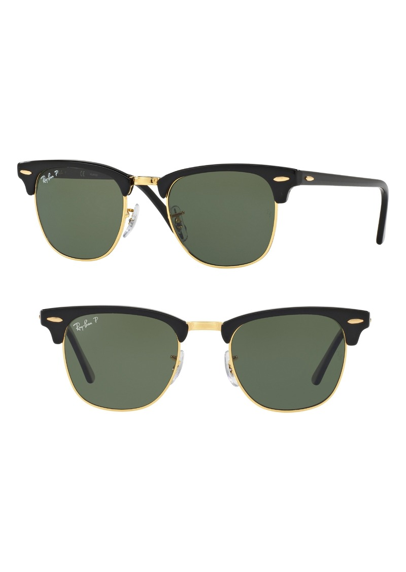 bd8055b8a46 Ray-Ban Ray-Ban  Classic Clubmaster  51mm Polarized Sunglasses ...