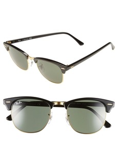 Ray-Ban 'Classic Clubmaster' 51mm Sunglasses