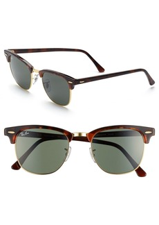 Ray-Ban Classic Clubmaster 51mm Sunglasses