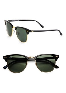 Ray-Ban RB3016 51MM Classic Clubmaster Sunglasses