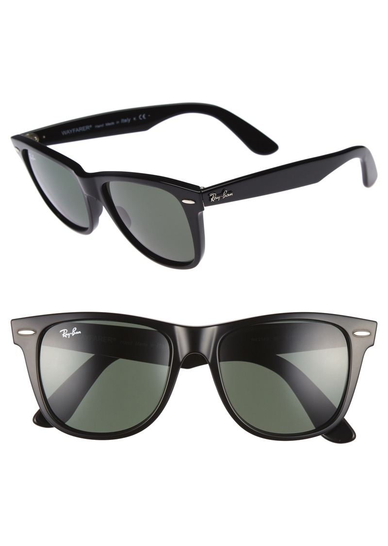 e0a812e03d ... reduced ray ban classic wayfarer 54mm sunglasses 5bf54 40458