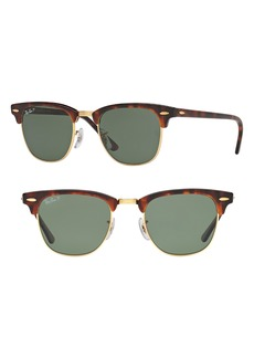 Ray-Ban 'Clubmaster' 49mm Polarized Sunglasses
