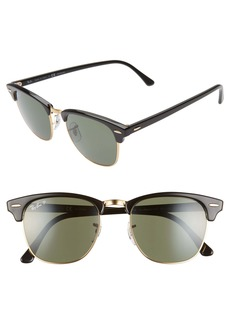 Ray-Ban Clubmaster 51mm Polarized Sunglasses