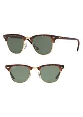 Ray-Ban Clubmaster 51mm Polarized Sunglasses
