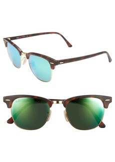 Ray-Ban 'Clubmaster' 51mm Sunglasses