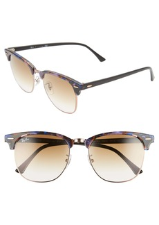 Ray-Ban Clubmaster Fleck 55mm Gradient Sunglasses