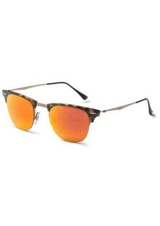 Ray-Ban Clubmaster Light Ray RB8056 Sunglasses - Mirror Lenses
