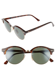 Ray-Ban Clubround 51mm Polarized Sunglasses