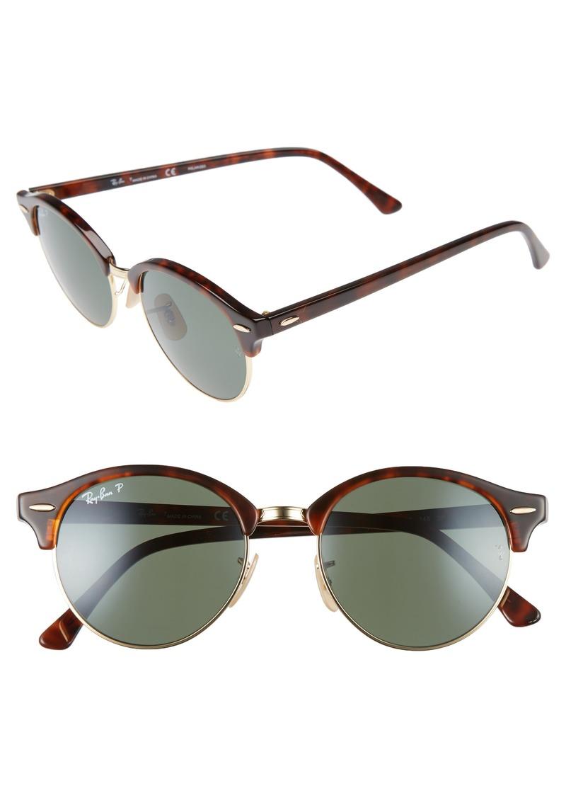 fcfae163b9 Ray-Ban Ray-Ban Clubround 51mm Polarized Sunglasses