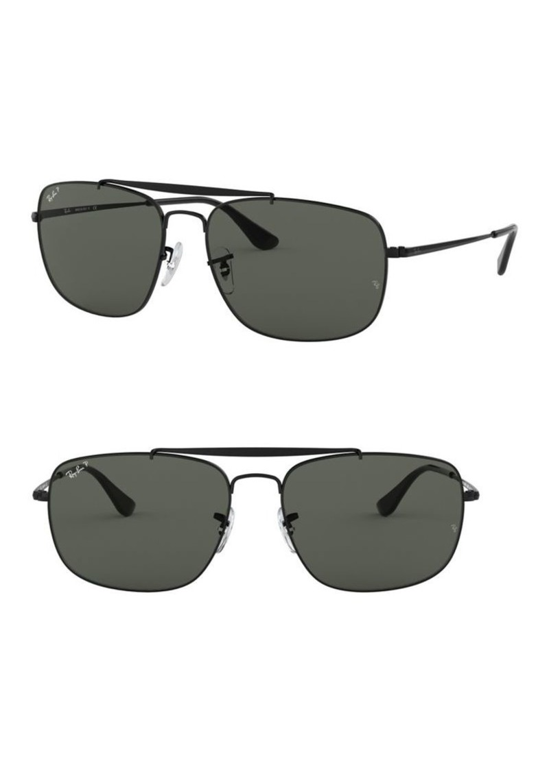 Ray-Ban RB3560 61MM Colonel Aviator Sunglasses