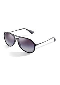 Ray-Ban Double-Bar Pilot Sunglasses