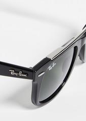 Ray-Ban RB4540 Double Bridge Wayfarer Sunglasses