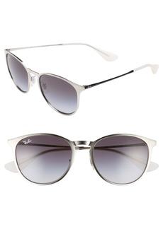 Ray-Ban Erika 54mm Metal Sunglasses