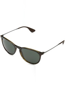 Ray-Ban Erika Aviator Sunglasses LIGHT HAVANA
