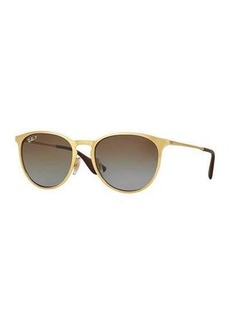 Ray-Ban Erika Rounded Square Polarized Sunglasses