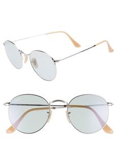 Ray-Ban Evolve 50mm Polarized Round Sunglasses
