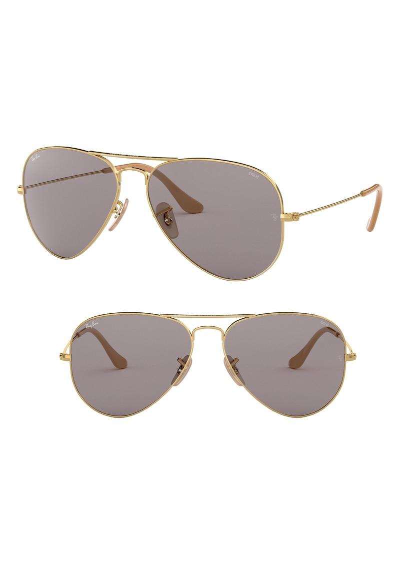 847d0458e30 Ray-Ban Ray-Ban Evolve 55mm Photochromic Aviator Sunglasses