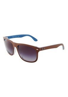 Ray-Ban Flat-Top Colorblock Plastic Sunglasses