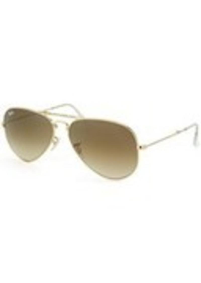 Ray-Ban Folding Aviator Metal Sunglasses