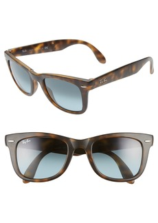Ray-Ban 'Folding Wayfarer' 50mm Sunglasses