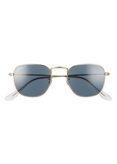 Ray-Ban Frank 48mm Polarized Square Sunglasses