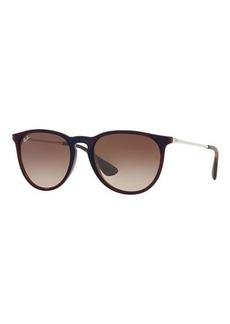 Ray-Ban Gradient Keyhole Nose Bridge Sunglasses