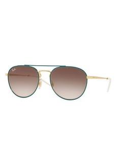 Ray-Ban Gradient Square Sunglasses