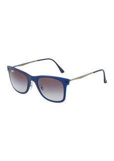 Ray-Ban Havana Plastic Aviator Sunglasses