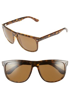 Ray-Ban Highstreet 60mm Polarized Sunglasses