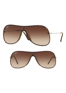 Ray-Ban Highstreet 138mm Shield Sunglasses