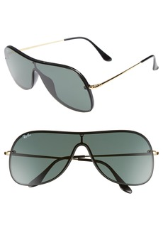 Ray-Ban Highstreet 38mm Shield Sunglasses
