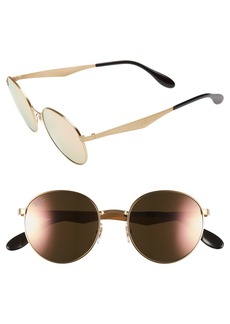 Ray-Ban 'Highstreet' 51mm Round Sunglasses