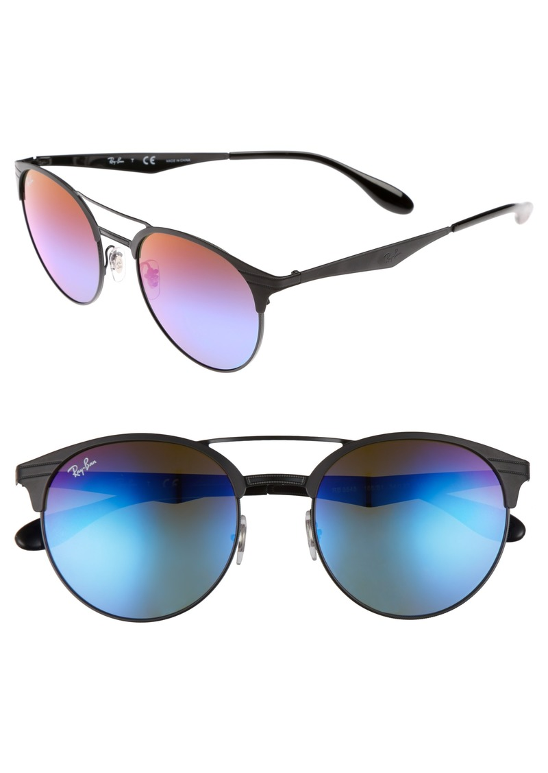 Ray-Ban Highstreet 54mm Round Sunglasses