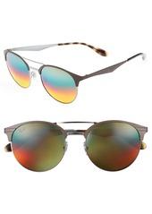 Ray-Ban Highstreet 54mm Round Sunglasses