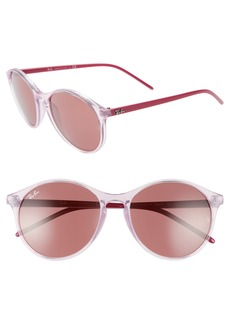 Ray-Ban Highstreet 55mm Round Sunglasses