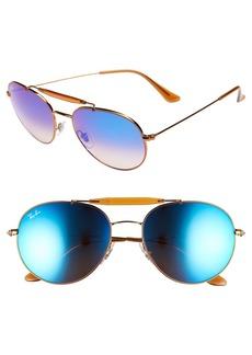 Ray-Ban Highstreet 56mm Sunglasses