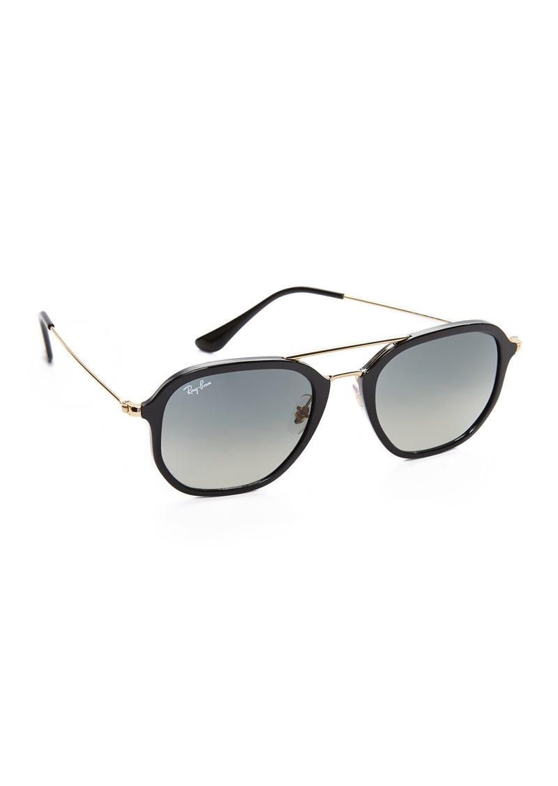 Ray-Ban RB4273 Highstreet Gradient Aviator Sunglasses