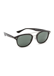 Ray-Ban Highstreet Browbar Sunglasses