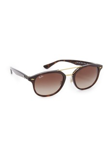 Ray-Ban Highstreet Browbar Sunglasses